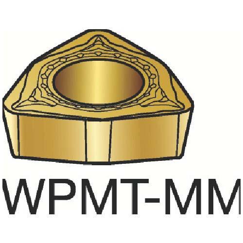 サンドビック コロターン111 旋削用ポジ・チップ 2025 WPMT WPMT040208MM (10個) 【最安値挑戦 激安 通販 おすすめ 人気 価格 安い おしゃれ 】