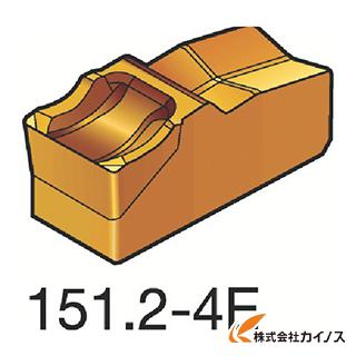 サンドビック T-Max Q-カット 突切り・溝入れチップ 4225 N151.2-400-4E N151.24004E (10個) 【最安値挑戦 激安 通販 おすすめ 人気 価格 安い おしゃれ 16200円以上 送料無料】