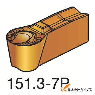 サンドビック T-Max Q-カット 突切り・溝入れチップ 4225 N151.3-400-30-7P N151.3400307P (10個) 【最安値挑戦 激安 通販 おすすめ 人気 価格 安い おしゃれ 】