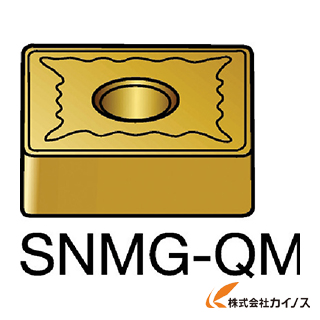 サンドビック T-Max P 旋削用ネガ・チップ 2025 SNMG SNMG120412QM (10個) 【最安値挑戦 激安 通販 おすすめ 人気 価格 安い おしゃれ 】