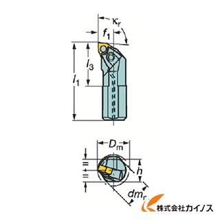 【送料無料】 サンドビック T-Max P ネガチップ用ボーリングバイト A40V-MWLNL A40VMWLNL08 【最安値挑戦 激安 通販 おすすめ 人気 価格 安い おしゃれ】