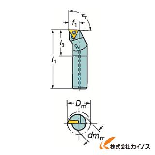 サンドビック コロターン111 ポジチップ用ボーリングバイト F10M-STFPR F10MSTFPR09R 【最安値挑戦 激安 通販 おすすめ 人気 価格 安い おしゃれ】