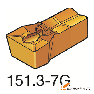 サンドビック T-Max Q-カット 突切り・溝入れチップ 3020 N151.3-400-30-7G N151.3400307G (10個) 【最安値挑戦 激安 通販 おすすめ 人気 価格 安い おしゃれ 16200円以上 送料無料】