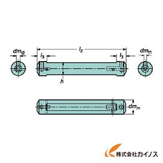 サンドビック コロターンXS 小型旋盤アダプタ CXS-A12-06 CXSA1206 【最安値挑戦 激安 通販 おすすめ 人気 価格 安い おしゃれ 】