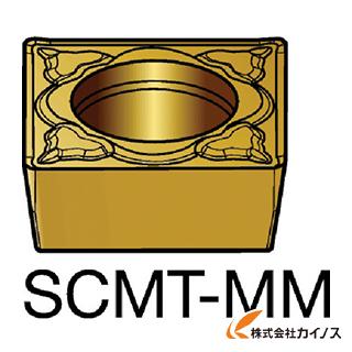 サンドビック コロターン107 旋削用ポジ・チップ 2025 SCMT SCMT120404MM (10個) 【最安値挑戦 激安 通販 おすすめ 人気 価格 安い おしゃれ 】