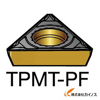 サンドビック コロターン111 旋削用ポジ・チップ 5015 TPMT TPMT06T104PF (10個) 【最安値挑戦 激安 通販 おすすめ 人気 価格 安い おしゃれ 】