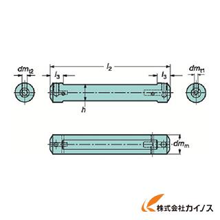 サンドビック コロターンXS 小型旋盤用アダプタ CXS-A25-05 CXSA2505 【最安値挑戦 激安 通販 おすすめ 人気 価格 安い おしゃれ 】