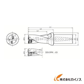 京セラ ドリル用ホルダ S20-DRX120M-2-03 S20DRX120M203 【最安値挑戦 激安 通販 おすすめ 人気 価格 安い おしゃれ】