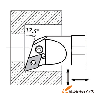 【送料無料】 京セラ 内径加工用ホルダ S32S-PDQNR15-44 S32SPDQNR1544 【最安値挑戦 激安 通販 おすすめ 人気 価格 安い おしゃれ】