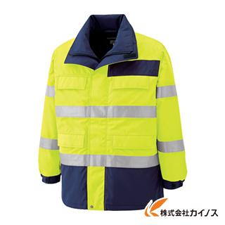ミドリ安全 高視認性 防水帯電防止防寒コート イエロー 3L SE1124-UE-3L SE1124UE3L 【最安値挑戦 激安 通販 おすすめ 人気 価格 安い おしゃれ】