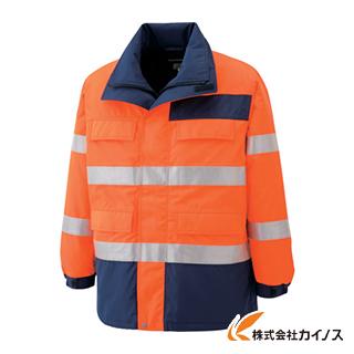 ミドリ安全 高視認性 防水帯電防止防寒コート オレンジ L SE1125-UE-L SE1125UEL 【最安値挑戦 激安 通販 おすすめ 人気 価格 安い おしゃれ】