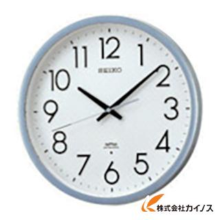 【送料無料】 SEIKO 電波掛時計 直径390×52 P枠 銀色半光沢 KS265S 【最安値挑戦 激安 通販 おすすめ 人気 価格 安い おしゃれ】