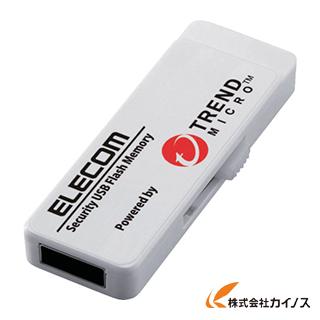 エレコム セキュリティ機能付USBメモリー 8GB 3年ライセンス MF-PUVT308GA3 MFPUVT308GA3 【最安値挑戦 激安 通販 おすすめ 人気 価格 安い おしゃれ 16200円以上 送料無料】