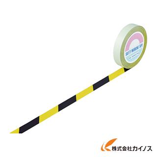 緑十字 ガードテープ(ラインテープ) 黄/黒(トラ柄) 25mm幅×100m 148022 【最安値挑戦 激安 通販 おすすめ 人気 価格 安い おしゃれ】
