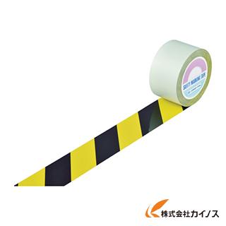 緑十字 ガードテープ(ラインテープ) 黄/黒(トラ柄) 75mm幅×100m 148102 【最安値挑戦 激安 通販 おすすめ 人気 価格 安い おしゃれ】