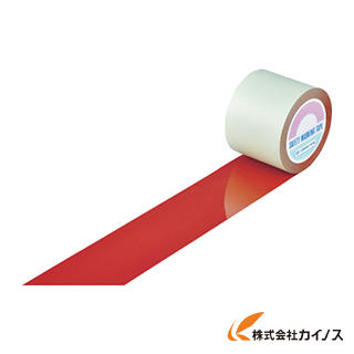 緑十字 ガードテープ(ラインテープ) 赤 100mm幅×100m 屋内用 148134 【最安値挑戦 激安 通販 おすすめ 人気 価格 安い おしゃれ】
