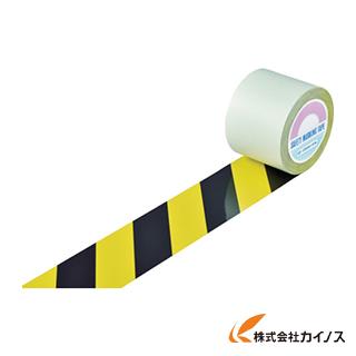 緑十字 ガードテープ(ラインテープ) 黄/黒(トラ柄) 100mm幅×20m 148162 【最安値挑戦 激安 通販 おすすめ 人気 価格 安い おしゃれ 】