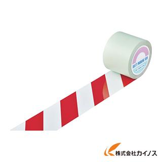 緑十字 ガードテープ(ラインテープ) 白/赤(トラ柄) 100mm幅×20m 148163 【最安値挑戦 激安 通販 おすすめ 人気 価格 安い おしゃれ 】