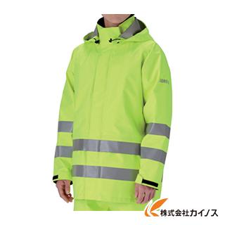 【送料無料】 ミドリ安全 雨衣 レインベルデN 高視認仕様 上衣 蛍光イエロー M RAINVERDE-N-UE-Y-M RAINVERDENUEYM 【最安値挑戦 激安 通販 おすすめ 人気 価格 安い おしゃれ】