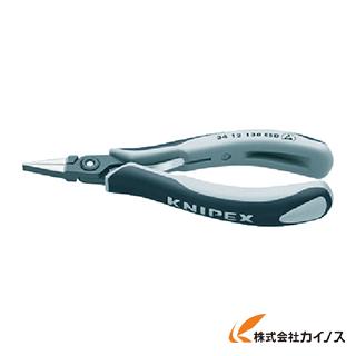 KNIPEX ESD精密用プライヤー 半丸 130mm 3452-130ESD 3452130ESD 【最安値挑戦 激安 通販 おすすめ 人気 価格 安い おしゃれ 】