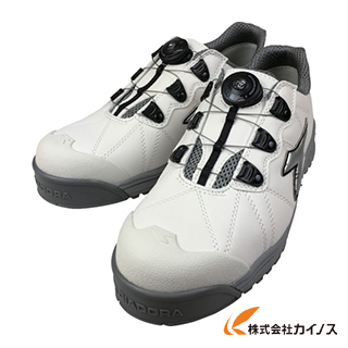 ディアドラ DIADORA安全作業靴 フィンチ 白/銀/白 26.5cm FC181-265 FC181265 【最安値挑戦 激安 通販 おすすめ 人気 価格 安い おしゃれ 】