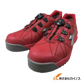 ディアドラ DIADORA安全作業靴 フィンチ 赤/銀/赤 25.5cm FC383-255 FC383255 【最安値挑戦 激安 通販 おすすめ 人気 価格 安い おしゃれ 】