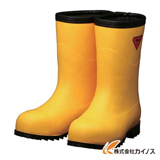 SHIBATA 防寒安全長靴セーフティベアー#1011白熊(イエロー)フード無し AC101-23.0 AC10123.0 【最安値挑戦 激安 通販 おすすめ 人気 価格 安い おしゃれ 16500円以上 送料無料】