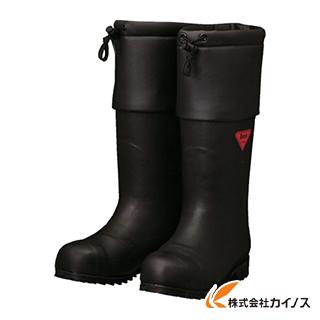SHIBATA 防寒安全長靴 セーフティベアー#1001白熊(ブラック) AC111-23.0 AC11123.0 【最安値挑戦 激安 通販 おすすめ 人気 価格 安い おしゃれ 16500円以上 送料無料】