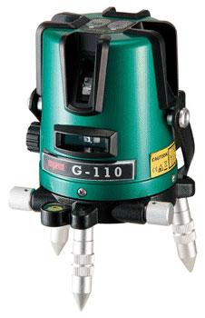マイゾックス <G-110> グリーンレーザー墨出器【 G110 測量機器 測量用品 通販 おすすめ 激安 人気 価格 安い 現場 墨出し 】