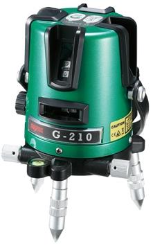 マイゾックス <G-210> グリーンレーザー墨出器【 G210 測量機器 測量用品 通販 おすすめ 激安 人気 価格 安い 現場 墨出し 】