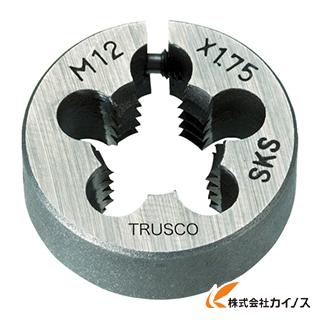 TRUSCO 丸ダイス 63径 M27×3.0 (SKS) T63D-27X3.0