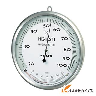佐藤 温湿度計 ハイエスト1型 7540-00