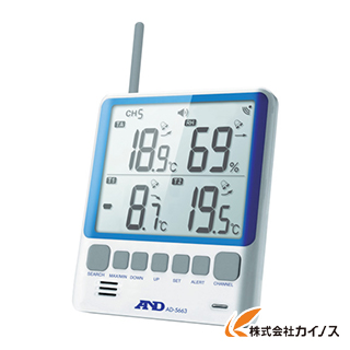 A&D マルチチャンネル温湿度計 AD5663