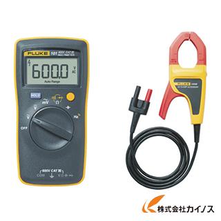 FLUKE ポケットサイズ・マルチメーター101 i400E電流クランプ付キット 101/I400E
