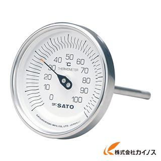 佐藤 バイメタル温度計BM-T型 BM-T-90S-1