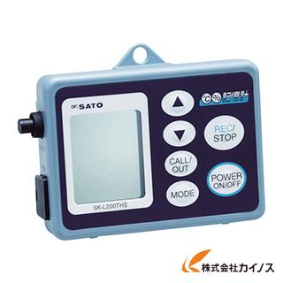 佐藤 データーロガー温湿度用 SK-L200TH2-A