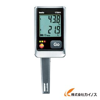 テストー 温湿度ロガNTC・静電容量式内蔵2ch TESTO175H1