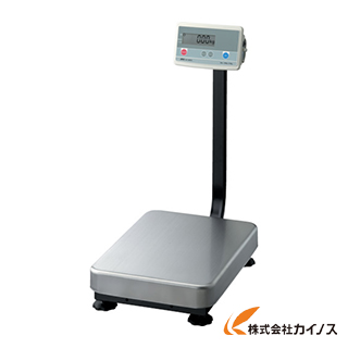 A&D デジタル台はかりポール付き計量皿寸法390×530mm FG150KAL