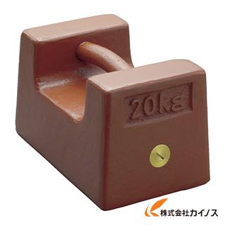 ViBRA 鋳鉄製枕型分銅 20kg M1級 M1RF-20K