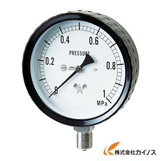 右下 ステンレス圧力計 G411-261-0.1MP