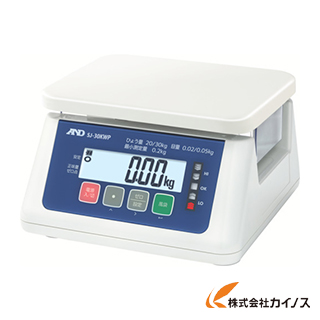 A&D 取引・証明用(検定済品)防塵・防水デジタルはかり SJ30KWP