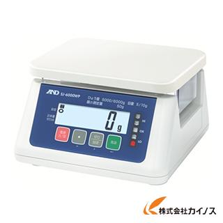 A&D 取引・証明用(検定済品)防塵・防水デジタルはかり SJ6000WP