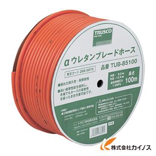 TRUSCO αウレタンブレードホース 8.5X12.5mm 100m ドラム巻 TUB-85100