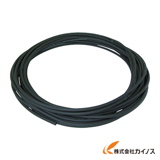 チヨダ エルフレックス二重管チューブ 8mm/100m 黒 LE-8-100 BK