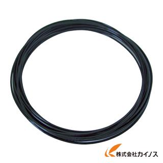 チヨダ メガタッチチューブ 10mm/100m 黒 MTP-10-100 BK