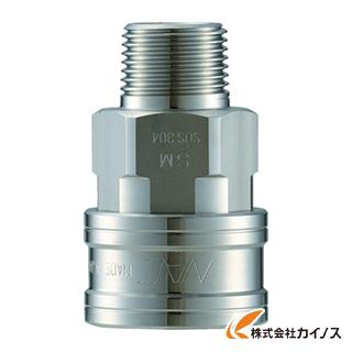 ナック クイックカップリング TL型 ステンレス製 メネジ取付用 CTL12SM3
