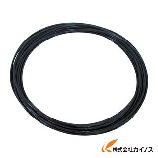 チヨダ TEタッチチューブ 8mm/100m 黒 TE-8-100