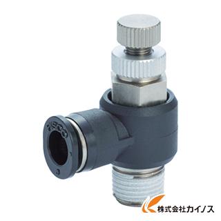 生産加工用品 空圧 油圧機器 爆売り デポー スピードコントローラ メーターアウトタイプ JSC4-01A ピスコ エルボ メーターアウト制御