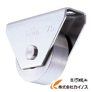 ヨコヅナ ロタ・ステン重量戸車 120mm 平型 WBS-1202