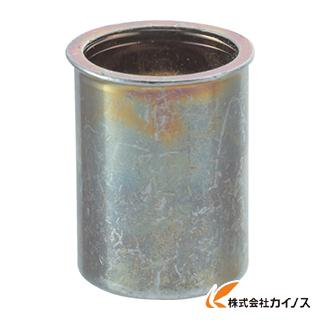 TRUSCO クリンプナット薄頭スチール 板厚1.5 M5X0.8 1000入 TBNF-5M15S-C